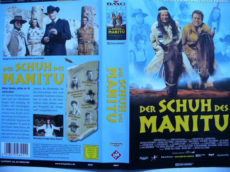 Der Schuh des Manitu ... Michael Bully Herbig  ...  VHS !!!