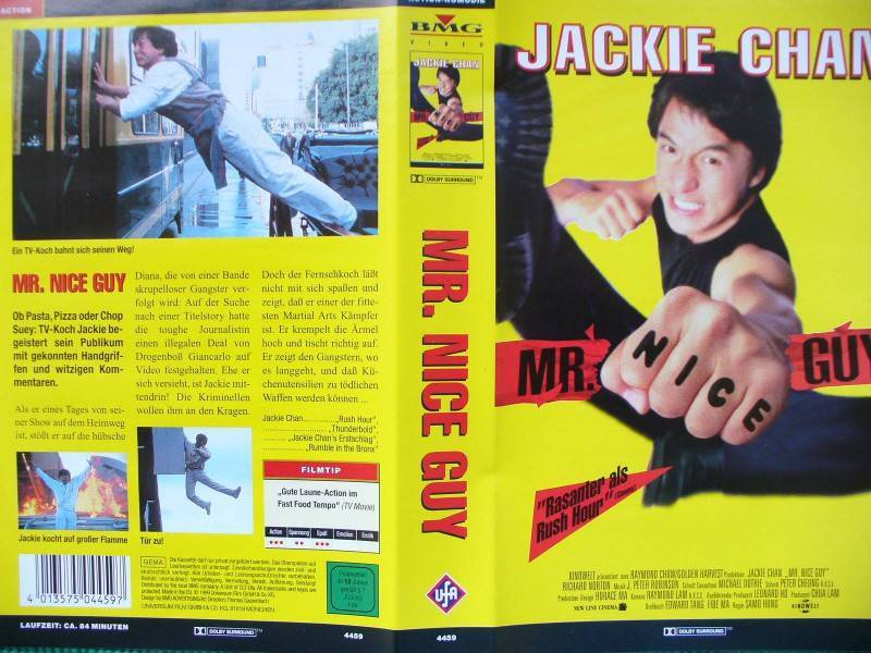 Mr. Nice Guy ...  Jackie Chan, Richard Norton ...  VHS !!!