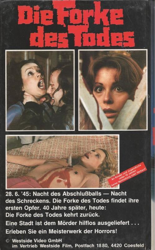 VHS - DIE FORKE DES TODES  RARITÄT