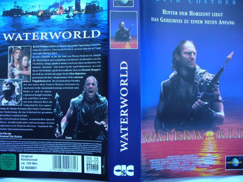 Waterworld ...  Kevin Costner ...  VHS !!!