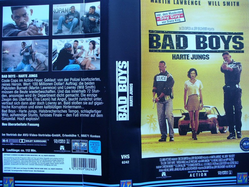 Bad Boys - Harte Jungs ...  Martin Lawrence, Will Smith