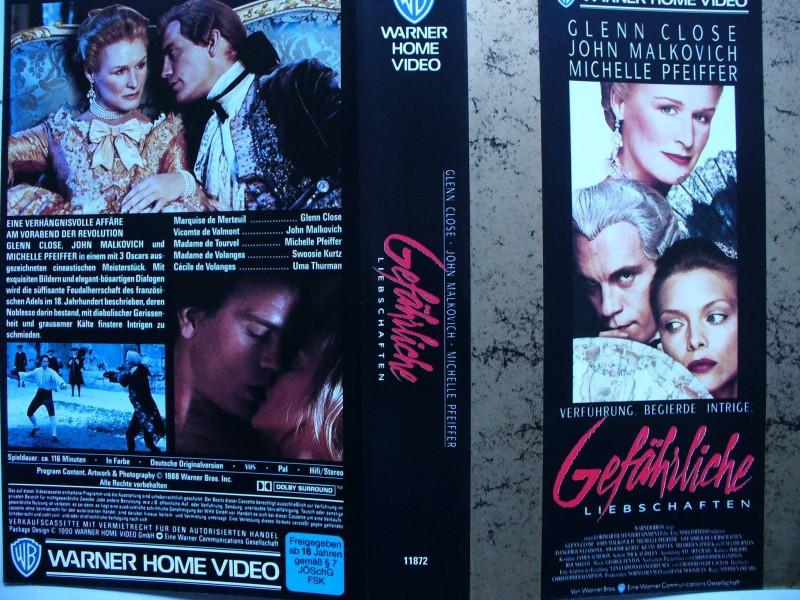 Gefährliche Liebschaften ... Glenn Close, Michelle Pfeiffer