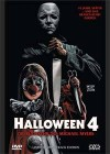 Halloween 4 - große Hartbox - Limitiert - uncut - DVD