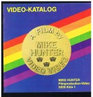 Mike Hunter Video Katalog Index  12 Seiten   VHS ( P 38)