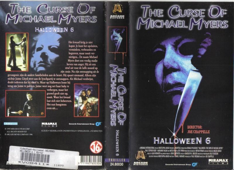 Halloween 6 - The Curse of Michael Meyers