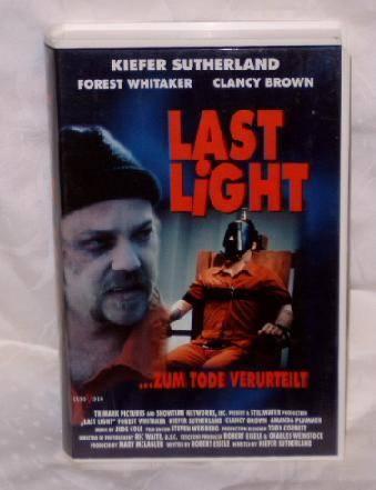 Last Light (Kiefer Sutherland) VCL Video Großbox uncut TOP !