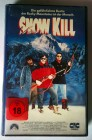 VHS - SNOW KILL (CiC Video) Rocky Mountains Thriller 90er Ja