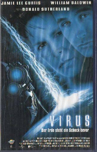 Virus (Jamie Lee Curtis) PAL VCL VHS (#16)