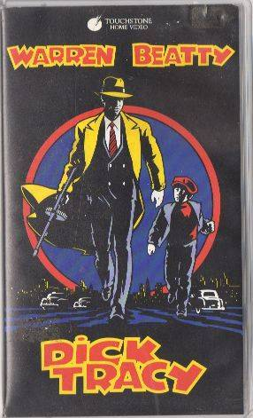 Dick Tracy (Warren Beaty) PAL Touchstone VHS (#2)