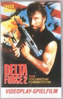 Delta Force 2-The Columbian Connection PAL Videoplay VHS #9