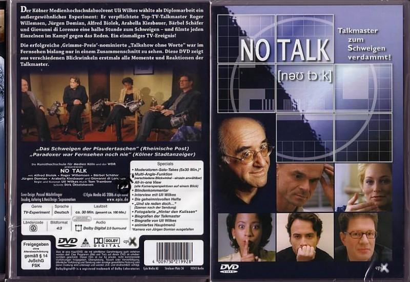 No Talk (4302528, Talkmaster zum Schweigen verdammt,Konvo)
