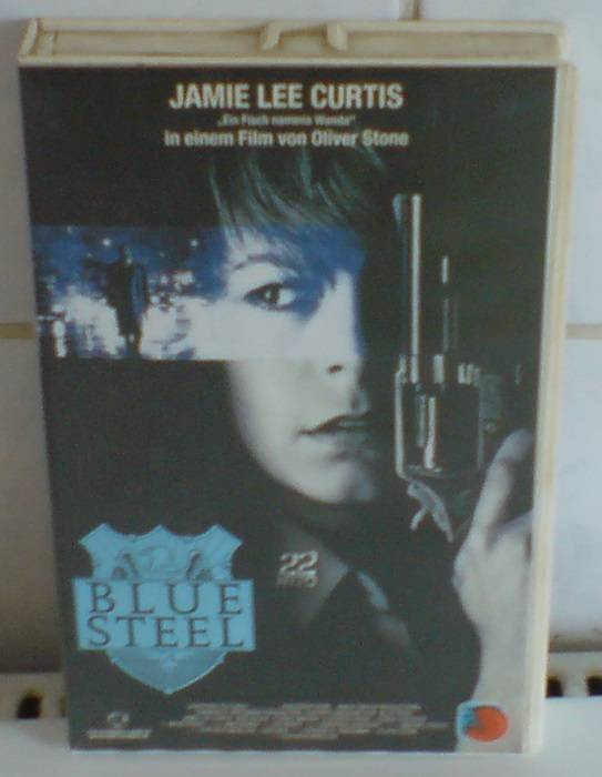 Blue Steel (Jamie Lee Curtis) Vestron Video Großbox TOP ! !