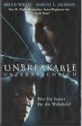 Unbreakable (Bruce Willis) PAL Touchstone VHS (#4)