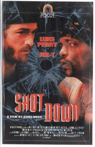 Shot Down (Luke Perry) PAL Ascot VHS (#5)