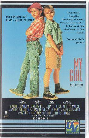 My Girl (Macaulay Culkin) PAL United VHS (#10)