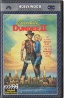 Crocodile Dundee 2 PAL CIC Paramount VHS (#10)