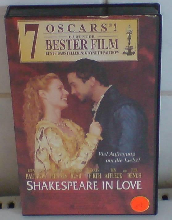 Shakespeare in Love(Ben Affleck)Universal Großbox uncut TOP