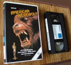 American Werewolf 1981 VHS Video Spectrum Polygram