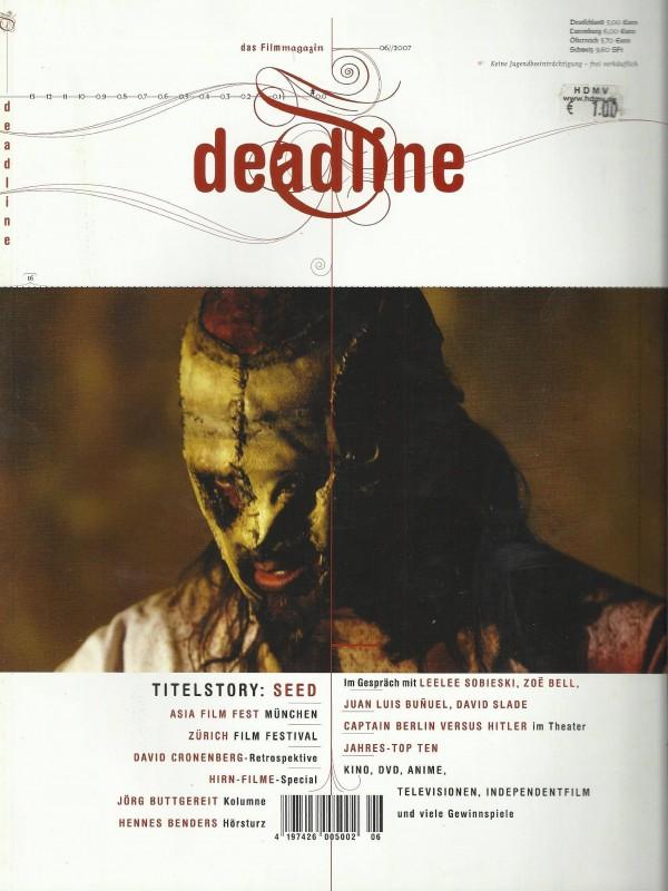 Deadline - Juni 2007