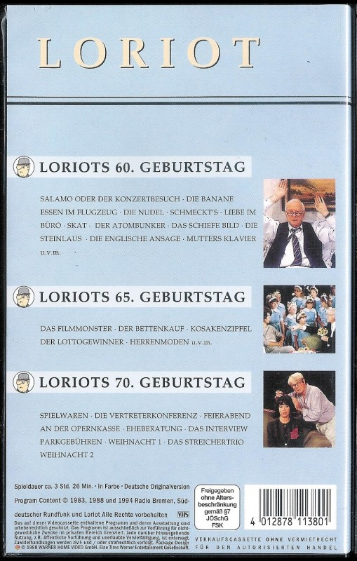 Im loriot liebe text büro Jobbörse für