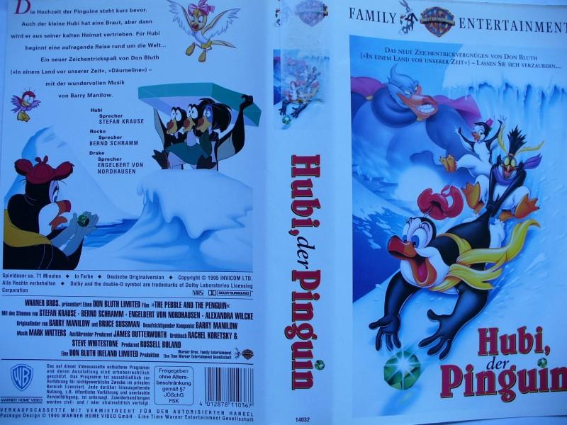 Hubi, der Pinguin ...  Zeichentrick !!