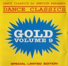 Dance Classics - Gold Volume 9 (DJ Service / Rare CD )
