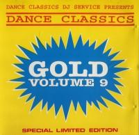 Dance Classics - Gold Volume 9 (DJ Service / Rare CD )