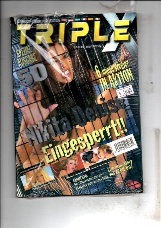 Triple X spezial Ausgabe 50 Magazin NEU/OVP