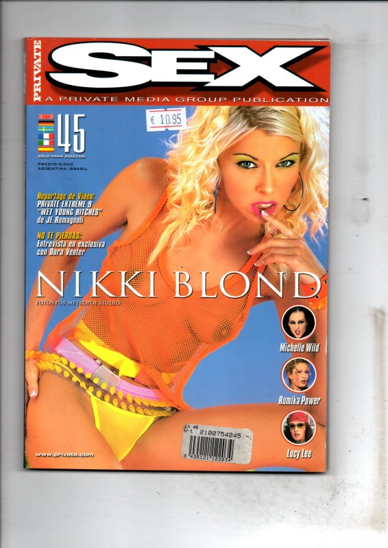 Private Sex 45 - Nikki Blond Magazin NEU