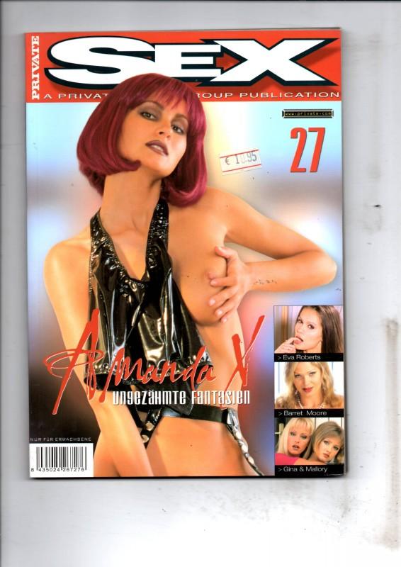 Private Sex 27 - Amanda X Magazin NEU