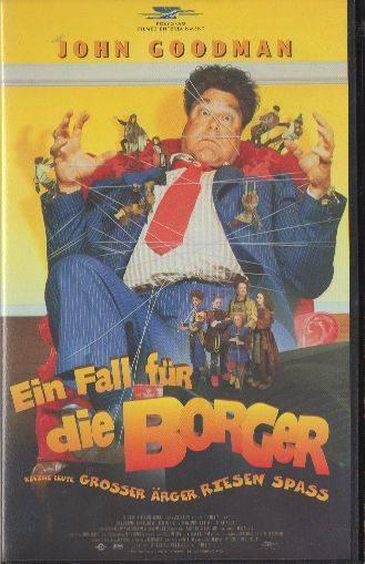 Ein Fall für die Borger PAL Polygram VHS (#8)