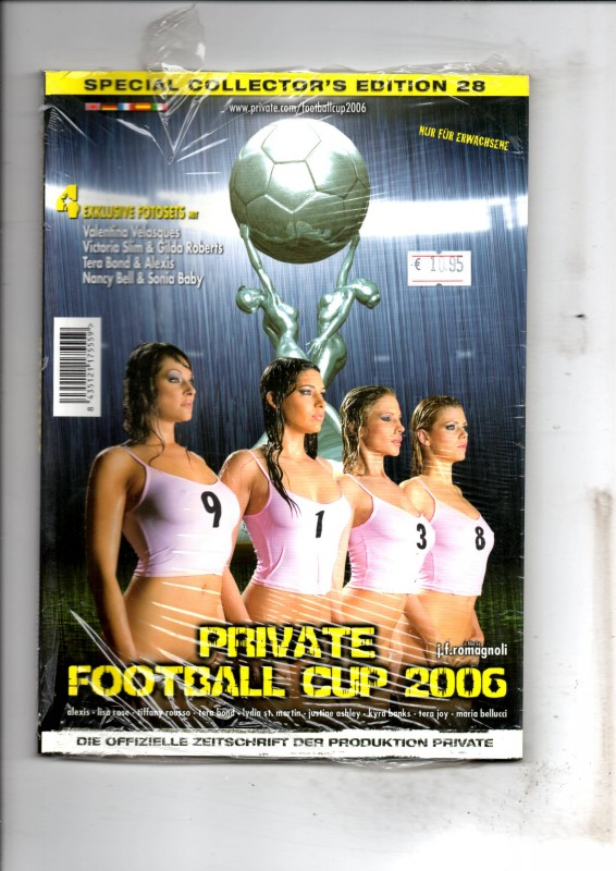Private Special Edition 28-Football Cup 2006 Magazin NEU/OVP