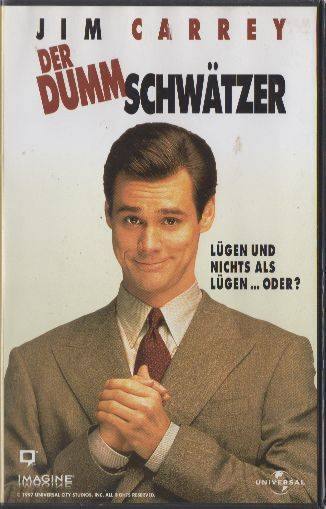 Der Dummschwätzer PAL Universal CIC VHS (#9)