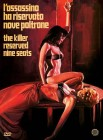 THE KILLER RESERVED NINE SEATS - DVD Digipak Lim 1000 OVP