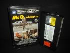 McQ schlägt zu VHS John Wayne Warner Home Video