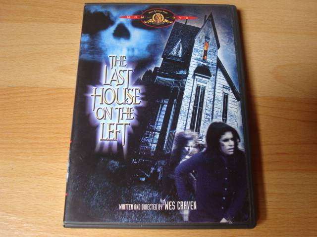 The Last House On The Left 1972  - Wes Craven uncut US DVD
