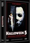 HALLOWEEN 5 (DVD+Blu-Ray+CD) (3Discs) - Cover B - Mediabook
