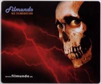 Filmundo Mousepad - Horror Motiv mit Totenkopf - 1,5mm dünn