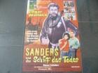 SANDERS UND DAS SCHIFF DES TODES    - ORIGINALKINOPLAKAT A1