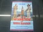 WINNETOU UND DAS HALBBLUT APANATSCHI - ORI: KINOPLAKAT A1