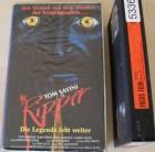 Tom Savini as The Ripper - Die Legende lebt weiter - VHS RAR