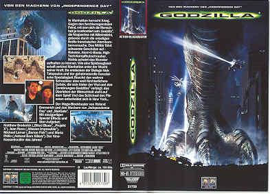 Godzilla (von Emmerich in einer Verleihversion,GC)