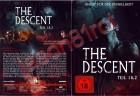 The Descent 1 & 2 / 2 DVDs im Pappschuber / OVP NEU uncut