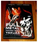 DVD FULL METAL YAKUZA - SPECIAL UNCUT VERSION  Takashi Miike
