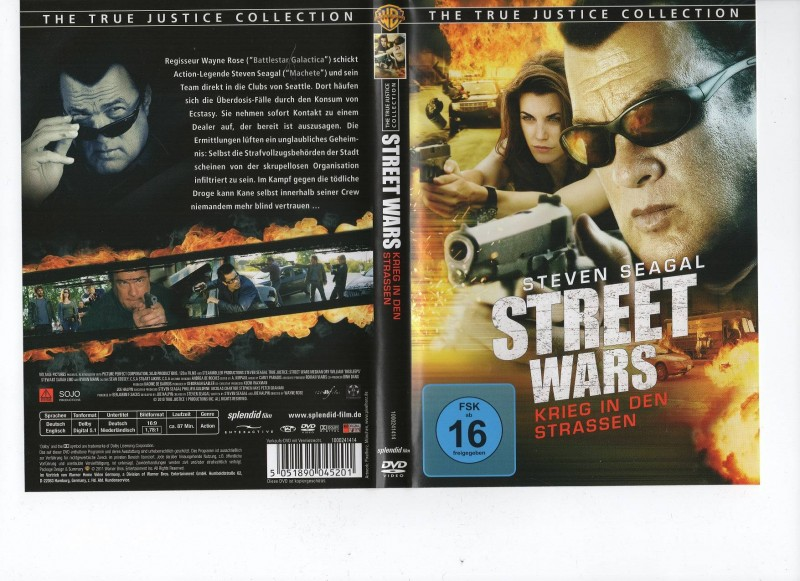 STREET WARS - Stevens Seagal -  DVD