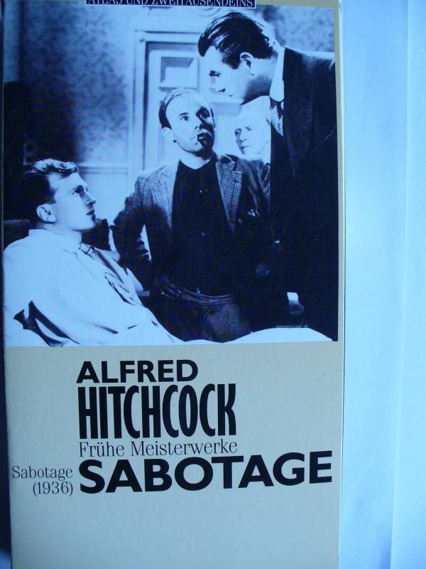 Sabotage  ...  Alfred Hitchcock - Klassiker !!!