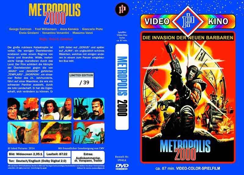 Metropolis 2000 - gr. Hartbox lim. 39 Inked Pictures NEU/OVP