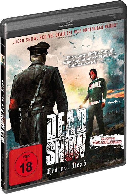 Dead Snow 2 - Red vs. Dead [Blu-ray] (deutsch/uncut) NEU+OVP