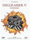 HELLRAISER 5 (White Edition, Mediabook, DVD+Blu-ray) NEU/OVP