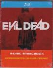 Evil Dead ( Blu-ray ) Steelbook ( Uncut ) Müller ( OVP ) OOP